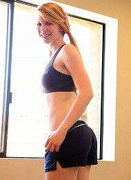 Taylor True Naughty In Gym 1