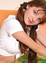 Cute amateur teen